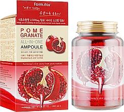 Парфюмерия и Козметика Ампулен серум за лице с екстракт от нар - FarmStay Pomegranate All In One Ampoule
