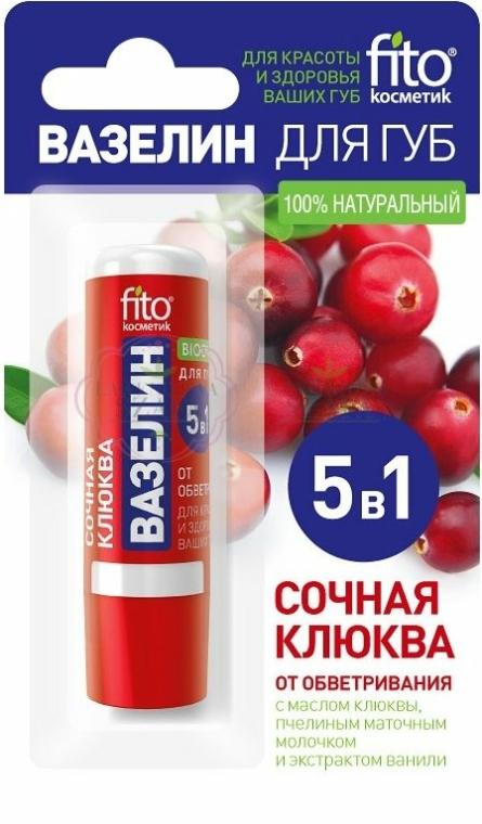 """Вазелин за устни """"Сочни боровинки"""" - Fito Козметик"""