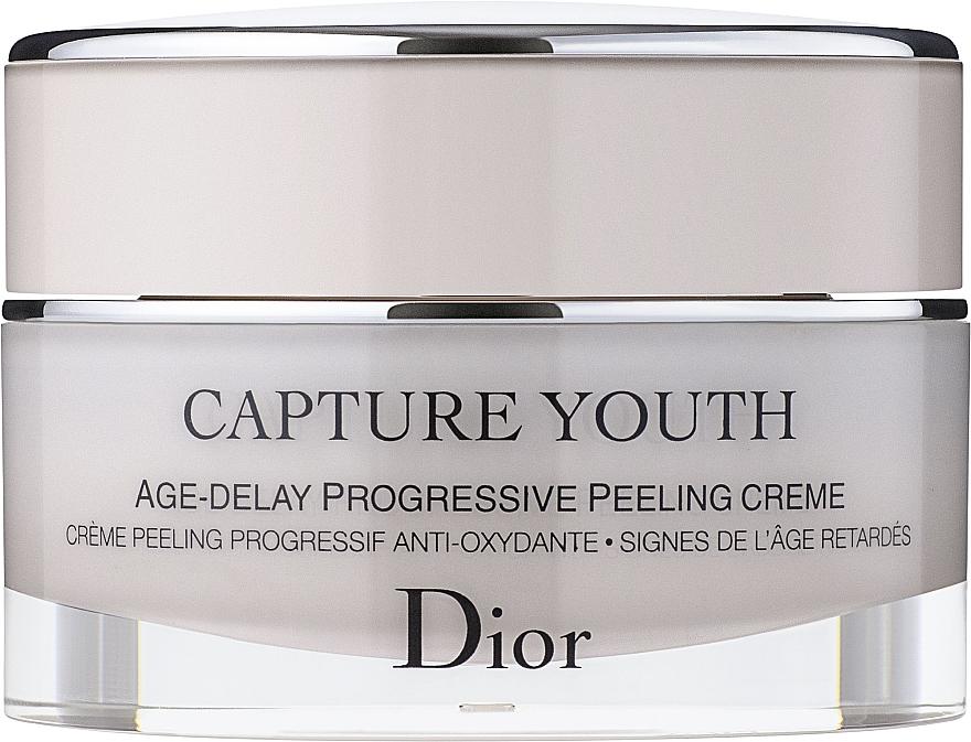Антиоксидантен обновяващ крем - Dior Capture Youth Age-Delay Progressive Peeling Creme — снимка N2