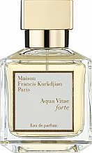 Парфюмерия и Козметика Maison Francis Kurkdjian Aqua Vitae Forte - Парфюмна вода