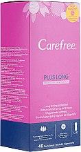 Парфюмерия и Козметика Ежедневни дамски превръзки 40 бр. - Carefree Plus Long Fresh Scent