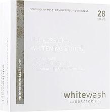 Парфюмерия и Козметика Професионални избелващи ленти за зъби - WhiteWash Laboratories Professional Whitening Strips