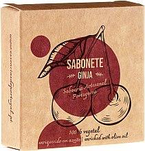 Парфюмерия и Козметика Натурален сапун с череша - Essencias De Portugal Senses Ginja Soap With Olive Oil