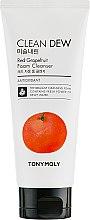 Парфюми, Парфюмерия, козметика Измиваща пяна за лице с грейпфрут - Tony Moly Clean Dew Foam Cleanser Grapefruit
