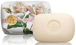 "Парфюмерия и Козметика Тоалетен сапун ""Роза"" - Saponificio Artigianale Fiorentino Rose Soap"