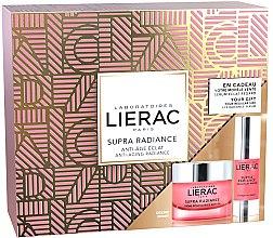 Парфюми, Парфюмерия, козметика Комплект за лице - Lierac Supra Radiance (крем/50ml + околочен серум/15ml)