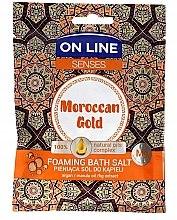 Соли за вана - On Line Senses Bath Salt Moroccan Gold — снимка N1