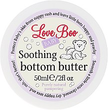 Парфюмерия и Козметика Успокояващо детско масло против подсичане - Love Boo Baby Soothing Bottom Butter