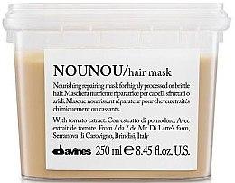 Парфюмерия и Козметика Подхранваща маска за коса - Davines Nounou Nourishing Reparing Mask