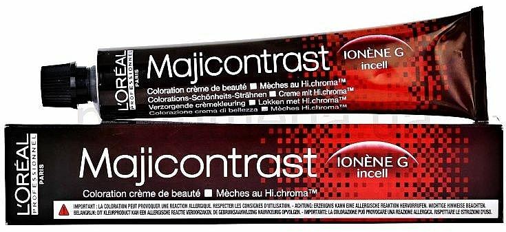 Крем-боя за коса - L'Oreal Professionnel Majirel/Majicontrast (без включен оксидант) — снимка N4
