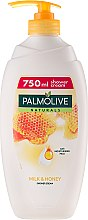 Парфюми, Парфюмерия, козметика Душ гел - Palmolive Naturals Milk Honey Shower Gel