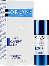 Парфюмерия и Козметика Серум-концентрат за лице с кофеин - Orlane Supradose Concentrate Caffeine Detoxifying