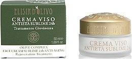 Парфюми, Парфюмерия, козметика Крем за лице против стареене - Erbario Toscano Olive Complex Face Cream Sublime 24H Anti-Aging