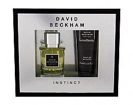Парфюмерия и Козметика David Beckham Instinct - Комплект (тоал. вода/30ml+душ гел/75ml)