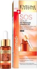 Парфюми, Парфюмерия, козметика Нощен серум SOS против първи бръчки - Eveline Cosmetics Facemed+