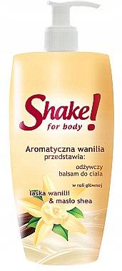 Регенериращ лосион за тяло с ванилия - Shake for Body Regenerating Body Lotion Vanilla — снимка N1
