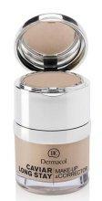 Парфюмерия и Козметика Фон дьо тен и коректор за лице - Dermacol Caviar Long Stay Make-Up & Corrector