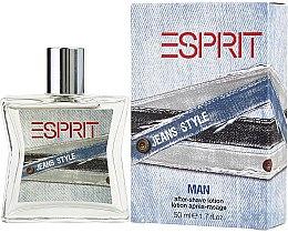 Парфюми, Парфюмерия, козметика Esprit Jeans Style Man - Лосион за след бръснене