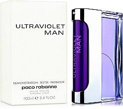 Парфюмерия и Козметика Paco Rabanne Ultraviolet Man - Тоалетна вода (тестер)