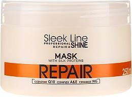 Парфюмерия и Козметика Възстановяваща маска за коса - Stapiz Sleek Line Repair Hair Mask